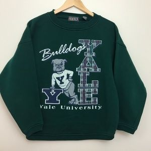 Vintage Tops - Vintage Yale Bulldogs Crewneck Sweatshirt
